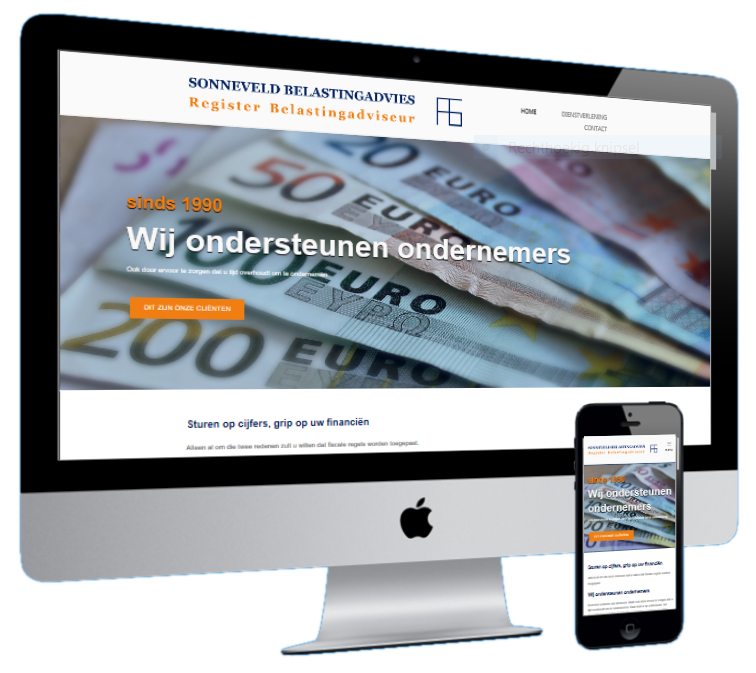 multi device website Sonneveld Drempt